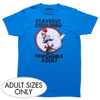 Clever Cat in the Hat T-Shirt