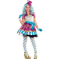 Girls Madeline Hatter Costume Supreme - Ever After High