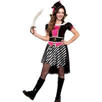 Girls Pretty Li'l Pirate Costume