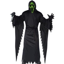 Adult Light-Up Ghost Face Costume - Scream