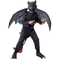 Boys Toothless Dragon Costume - How to Train Your Dragon 2