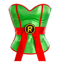 Sequin Raphael Corset - Teenage Mutant Ninja Turtles