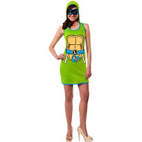 Adult Leonardo Hoodie Dress - Teenage Mutant Ninja Turtles