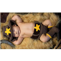 Baby Diaper Cover Cowboy Costume