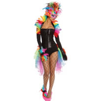 Adult Rainbow Bird Costume