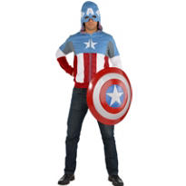 Adult Cozy Captain America Costume