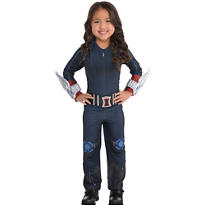 Girls Small Black Widow Costume - Avengers: Age of Ultron
