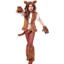 Girls Howl-O-Ween Werewolf Costume