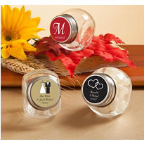 Personalized Glass Candy Jars <br>(Printed Label)</br>