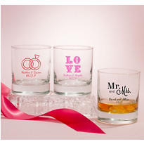Personalized Rocks Glasses <br>(Printed Glass)</br>