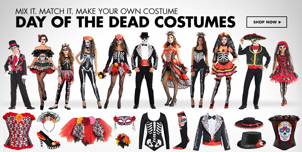Day of the Dead Costumes & Accessories