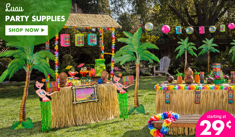 Luau Party Supplies