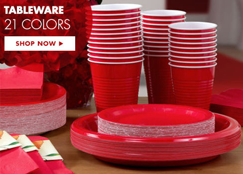 Tableware in 21 Colors