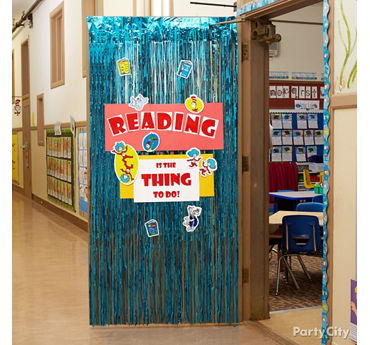Reading Party Door Decorating Idea