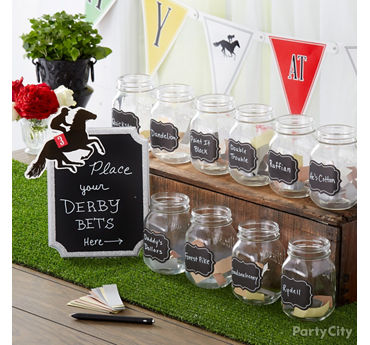 Kentucky Derby Betting Station Party Idea