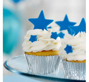Twinkle Star Cupcakes Idea
