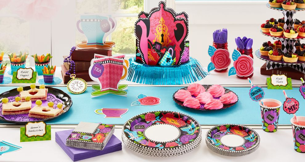 Mad Tea Party Supplies