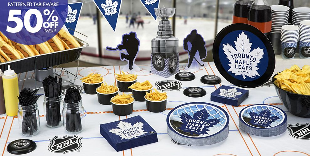 NHL Toronto Maple Leafs Party Supplies