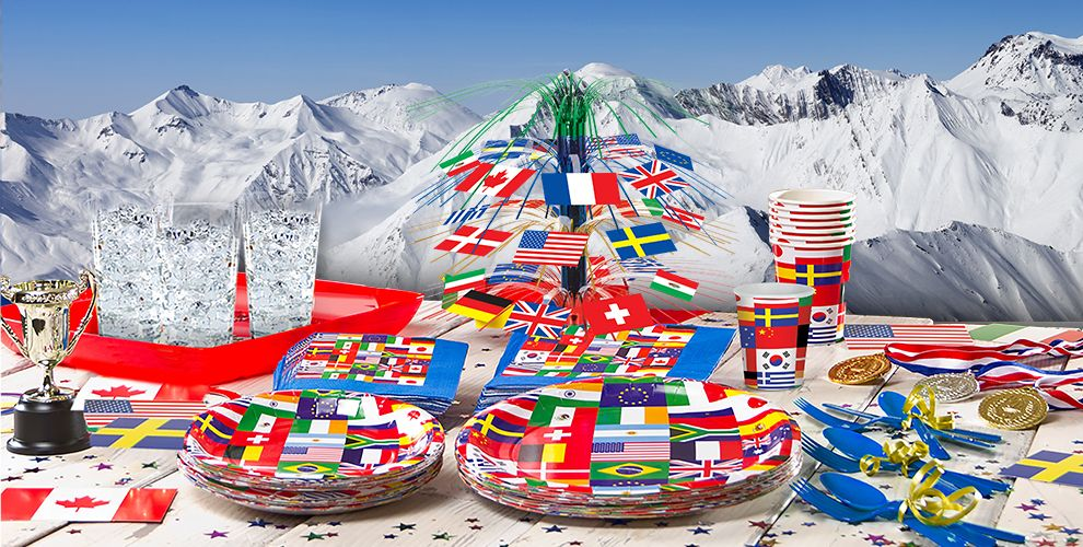 International Flag Party Supplies Decorations Amp Favors