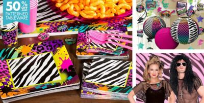 Totally 80s Theme Party Supplies Party City
