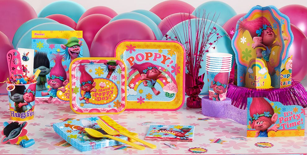 Trolls Party Supplies Trolls Birthday Party Party City