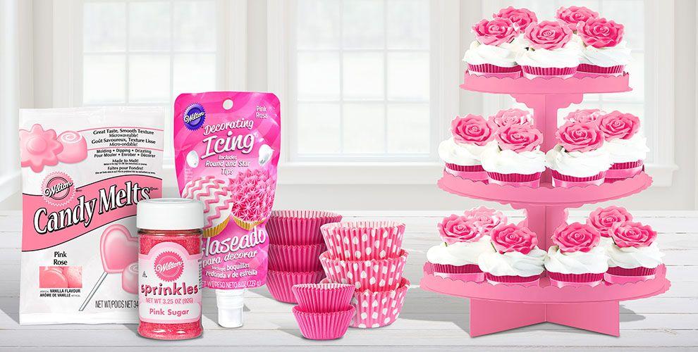 Pink Baking Supplies