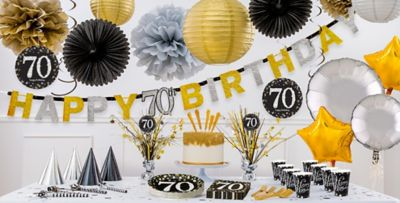 Sparkling Celebration 70th Birthday Party Supplies Party City