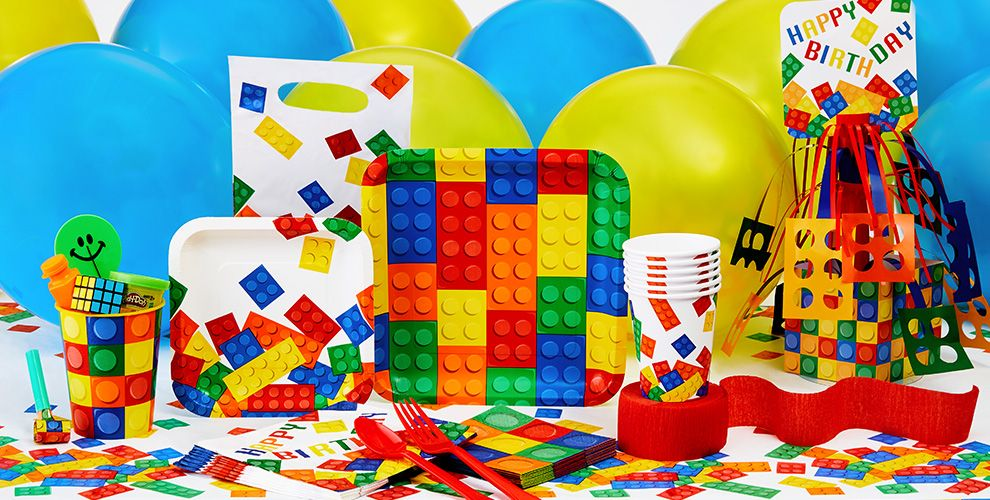 Building Blocks Party Supplies