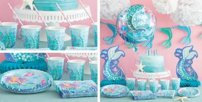 Mermaid Party Supplies  sc 1 st  Party City & Mermaid Party Supplies - Mermaid Party | Party City