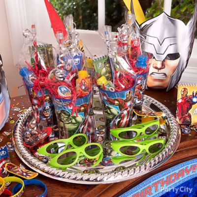 Avengers Favors Platter Idea Party City Party City Canada