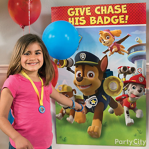 PAW Patrol Pin It Game Idea