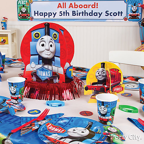 Thomas Party Table Idea