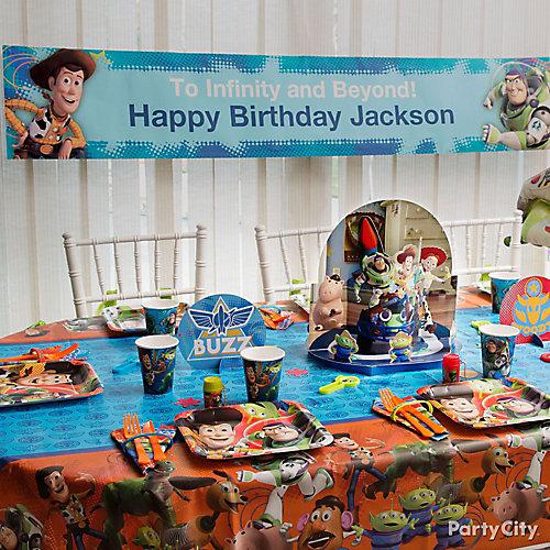 Toy Story Custom Banner Idea