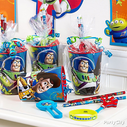 Toy Story Favor Cup Idea
