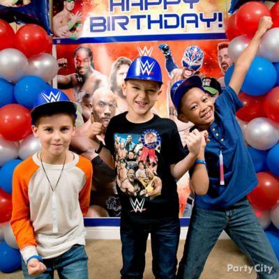 WWE Action Gear Idea Dress Up Ideas WWE Party Ideas Boys