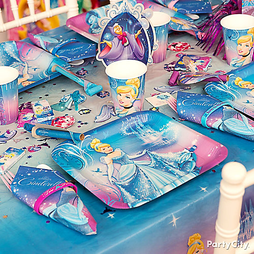 Cinderella Place Setting Idea
