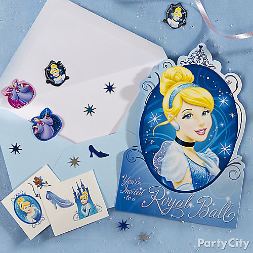 Cinderella Invite with Surprise Idea