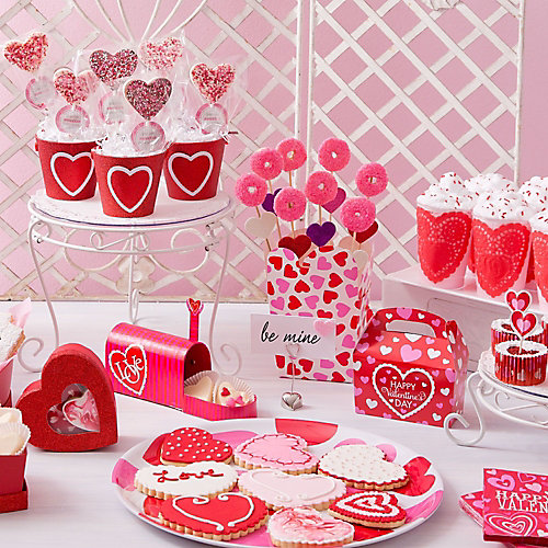Valentines Day Dainty Treat Display Idea