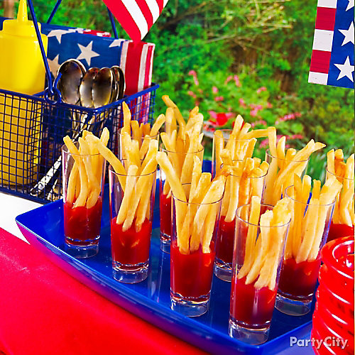 French Fries Serving Idea
