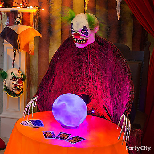 Halloween Clown Fortune Teller Idea