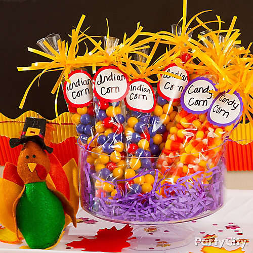 Candy Corn Favors Idea