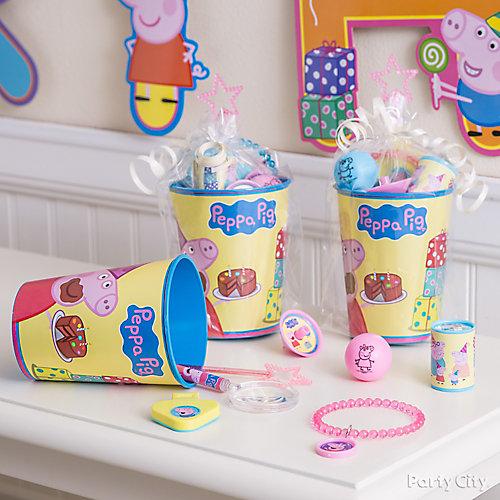 Peppa Pig Favor Cup Idea