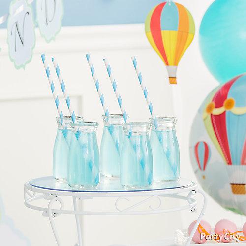 Sky Blue Drink Idea