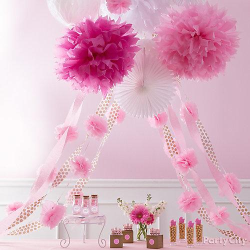 Princess Baby Shower Decoration Idea