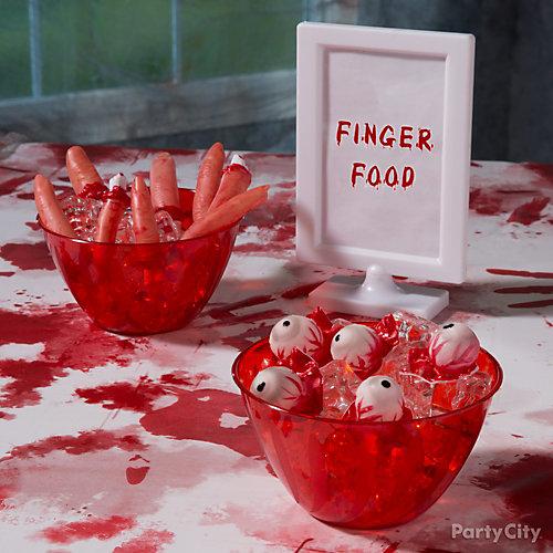 Asylum Finger Food Idea
