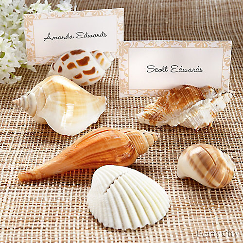 Seashell Place Card Idea