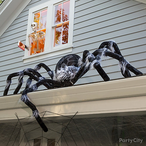 Giant Roof Spider Idea