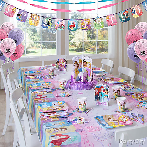 Disney Princess Party Table Idea  sc 1 st  Party City & Disney Princess Party Table Idea - Party City | Party City