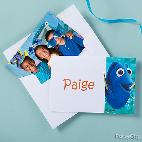 Dory Thank You Note Idea