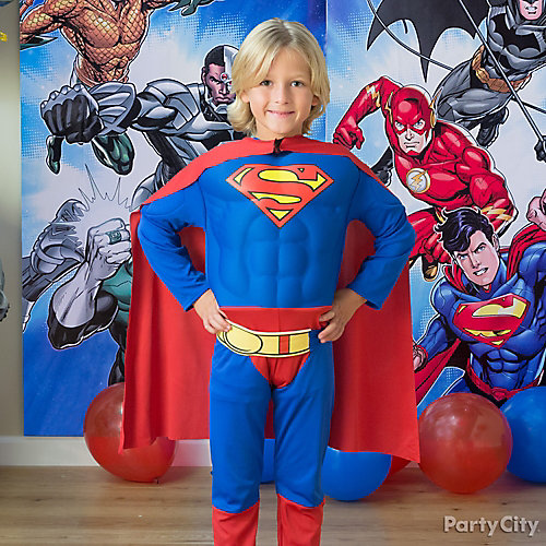Justice League Birthday Costume Idea